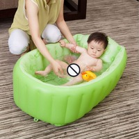 Baby Pool Inflatable Square Bath Green/Blue PVC For 3 6 Years Old Child Thickening Bath Tub Children Swimming Pool
