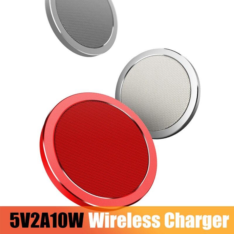 ROCK Qi Sans Fil Chargeur Pour iPhone X 8 plus, rapide Sans Fil Chargeur pour Samsung Galaxy Note 8 S8 S7 bord S6 Qi-Appareils Compatibles