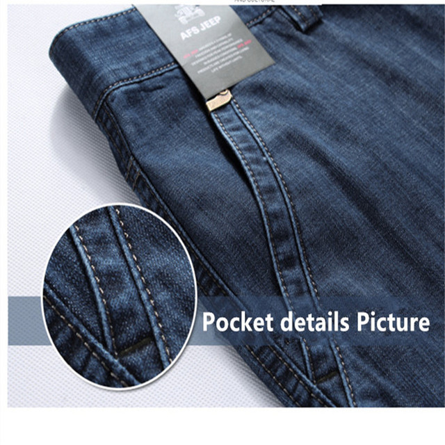 Casual Military Multi-pocket Jeans 3