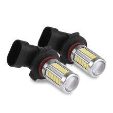 1pc 9006 5630 33LED 12V 30W 6500K 800LM High Brightness Car Fog Light Headlight Bulb White Automobile Driving light
