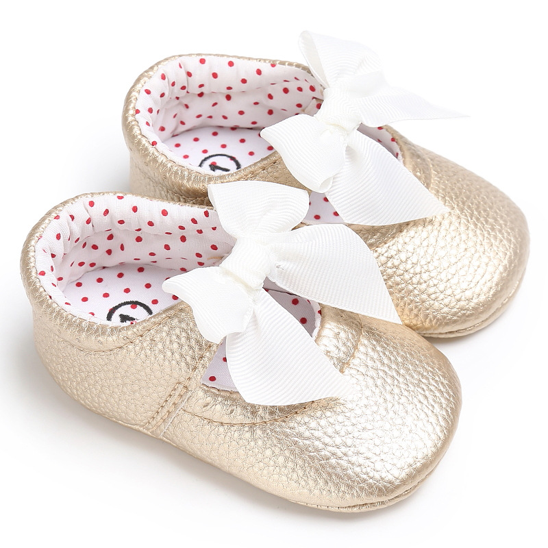 TOPATY Sapatos Anti-Skid Toddler Shoes Soft Leather Butterfly-Knot Princess Infantil zapatos De Bebe Brand New Baby Moccasins