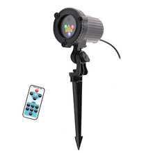 Remote Static Star Dots Laser Projector Light Garden Outdoor Waterproof Christmas Tree Xmas Holiday Shower Lighting