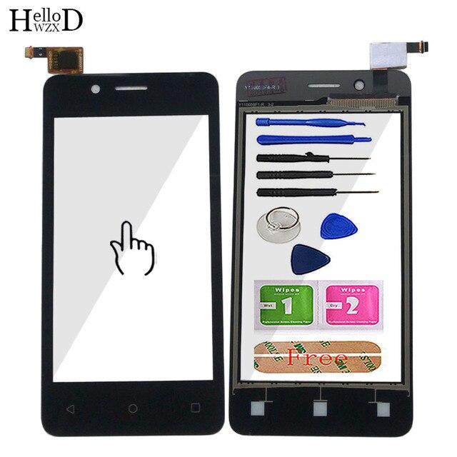 """4,0 """"Mobile Touch Screen Für Fly FS408 Stratus 8 Touch Screen Glas Digitizer Panel Objektiv Sensor Glas Werkzeuge Kleber tücher"""