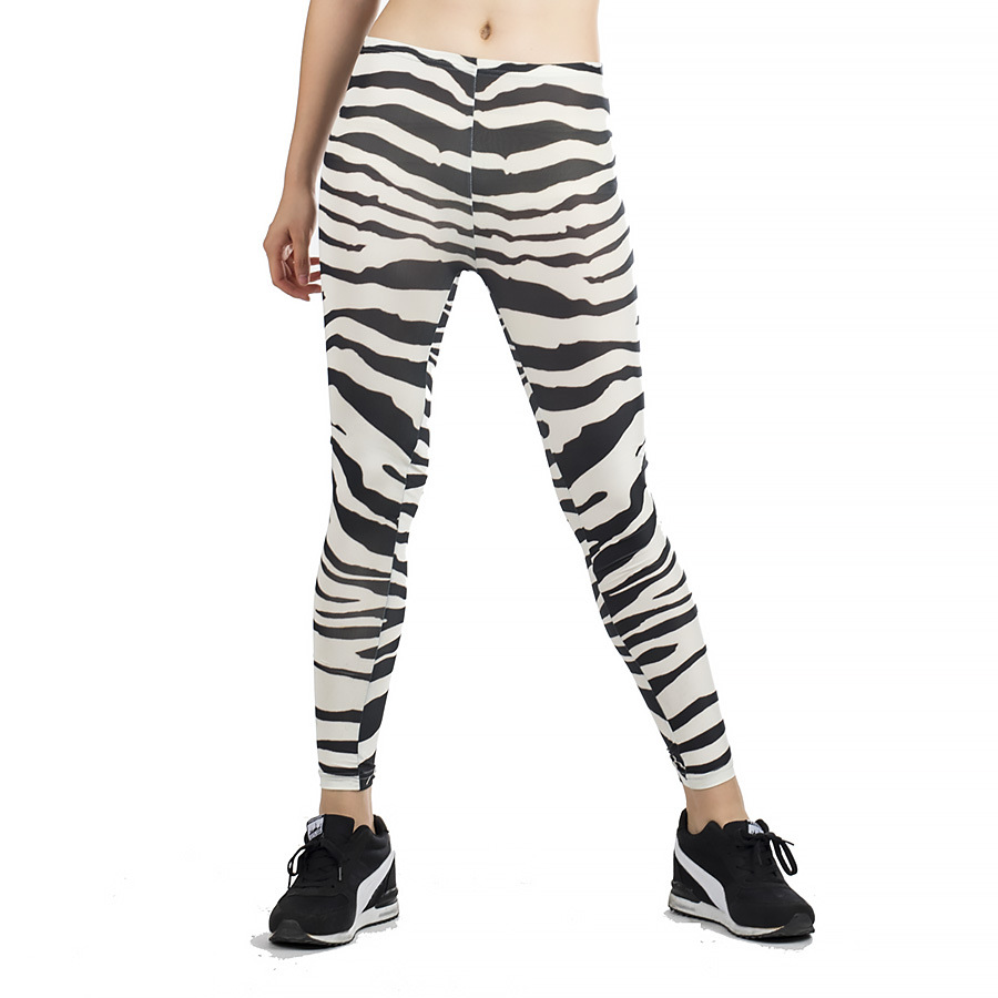Charmed New Women'S casual Pants Zebra Printing   Leggings   Thin Stretch Pants Roupa De Ginastica yf2