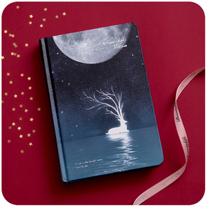 Image 5 - Cute Color Pages Diary Agenda Graffiti A5 Starry Night Notebook Sketchbook Watercolor Drawing School Diary Korea Stationery