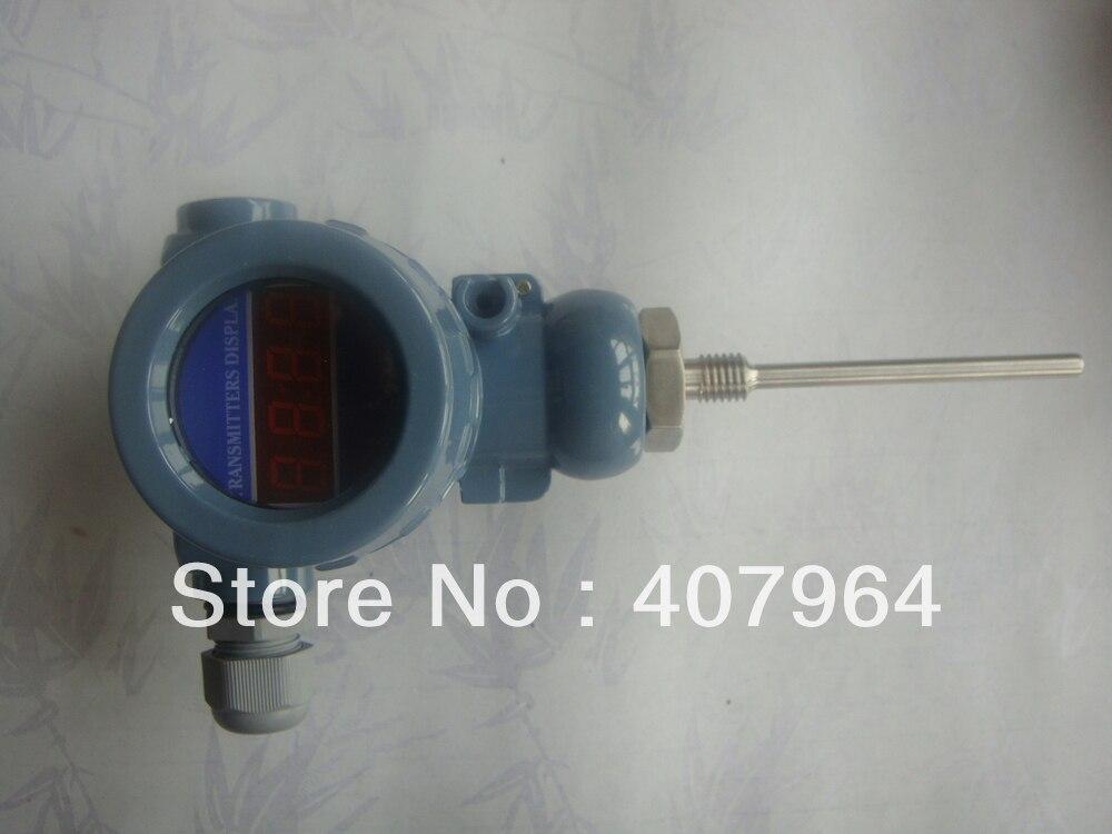 Transmetteur de température industriel Pt100 à affichage numérique 0-100C avec sortie 4-20mA