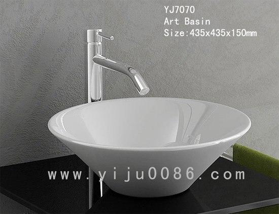 ceramic art bathroom wash basin sink - Wash Basin Sink