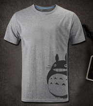 Totoro Men Casual Short Sleeve Tee