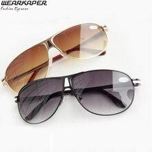 WEARKAPER Sun Readers bifocal presbyopic glasses sunglasses Reading Glasses men 1.0 -3.5