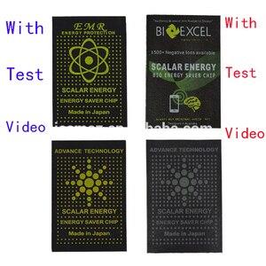 Image 1 - 50 pcs EMR énergie scalaire téléphone autocollant Anti rayonnement puce bouclier garder santé ordinateur portable Anti EMP EMF Protection pour femme enceinte