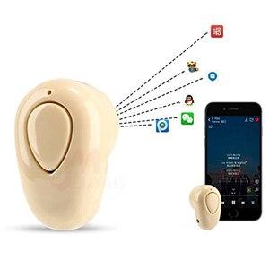 Image 5 - MEUYAG 新ワイヤレス Bluetooth イヤホン S520 ミニスポーツヘッドセットステレオ見えないインナーイヤー型イヤホン用マイクと iphone XR × 8 7
