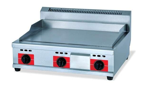 gaz de cuisson plat panneau plaque de cuisson en acier inoxydable gaz alimentaire friture. Black Bedroom Furniture Sets. Home Design Ideas