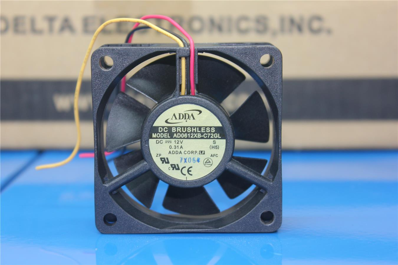 AD0612XB-C72GL original genuine 12V 0.31A 60 * 60 * 20 double ball cooling fan
