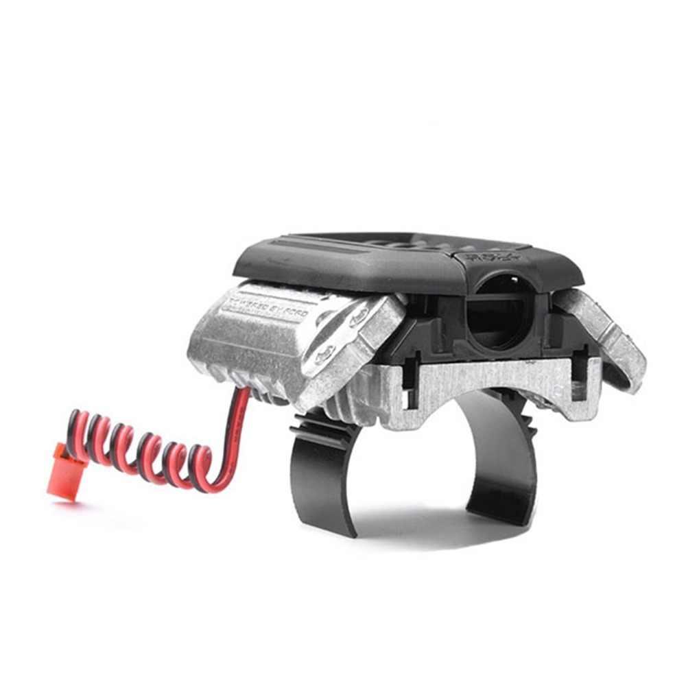 XBERSTAR имитации F11 V8 5,0 радиатор двигателя двойной вентилятор для 1/10 TRAXXAS TRX-4 TRX4 Радиоуправляемый автомобиль Запчасти аксессуары