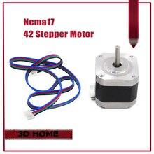 3Pcs CE certificatio 4-lead Nema 17 Stepper Motor 42 motor 42BYGH 1.7A 3D printer motor