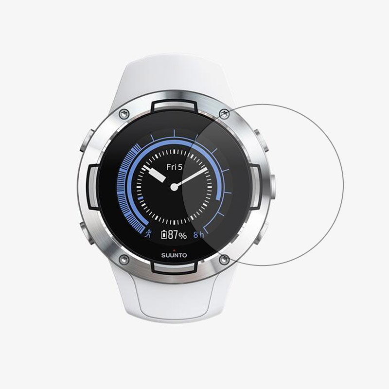 Tempered Glass Protective Film Clear Guard Protection For Suunto 5 Suunto5 Sport Watch Smartwatch Display Screen Protector Cover