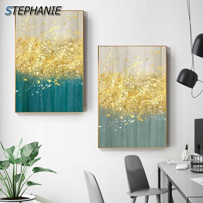 NE/_ IG/_ 2Pcs Xanthophyllum Yellow Leaf Tree Canvas Painting Poster Wall Art Pi