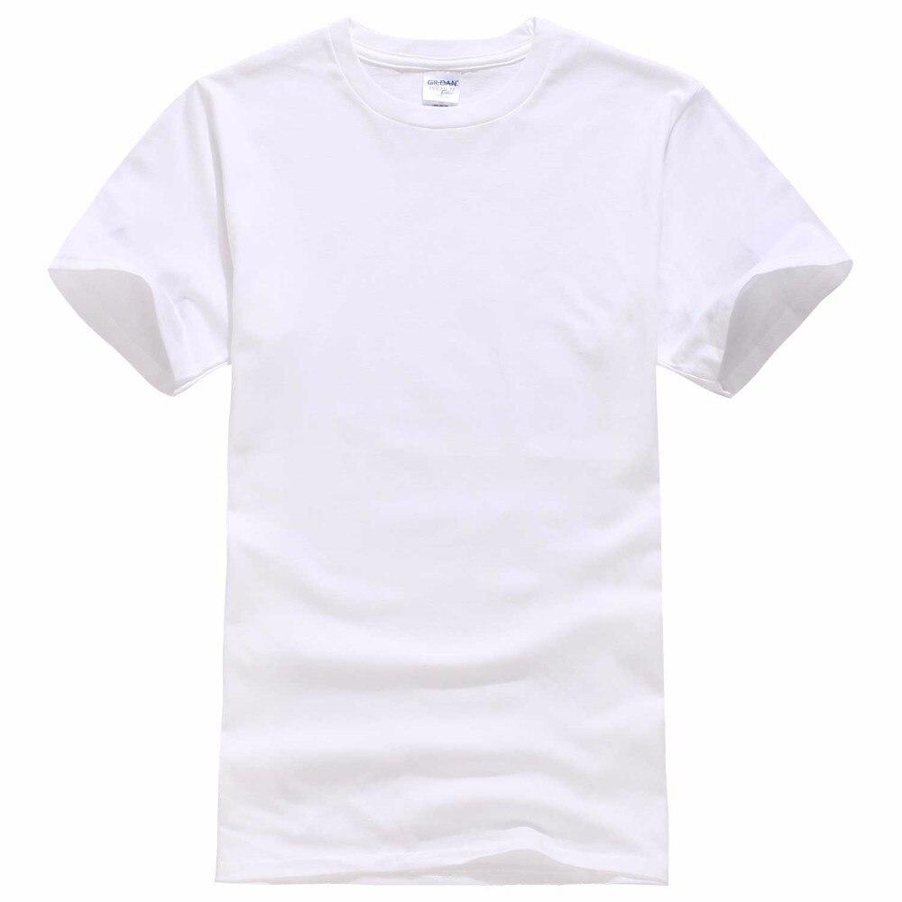 2017 Neue Einfarbig T Shirt Herren Schwarz Und Weiß 100% Baumwolle T-shirts Sommer Skateboard T Jungen Skate T-shirt Tops