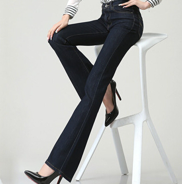 New 2016 women jeans Fashion female denim trousers Slim jeans woman high-waist jeans