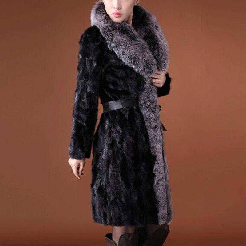 ef86ebb36e Women Faux Fur Robe Sexy Slim Coat For Lady Rabbit Fur Overcoat Women Faux  Mink Fur Sleepwear Women Top Quality Fox Fur Parka-in Faux Fur from Women s  ...