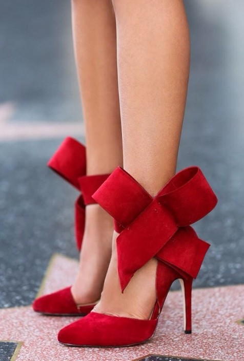 Popular Red Bow Heels-Buy Cheap Red Bow Heels lots from China Red ...