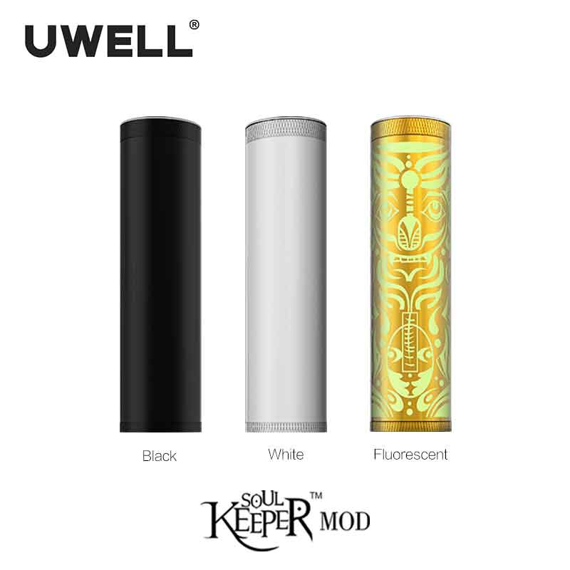 UWELL Soulkeeper Mech Mod 110 W Support unique 18650/20700/21700 batterie E-cigarette Vape Mod mécanique