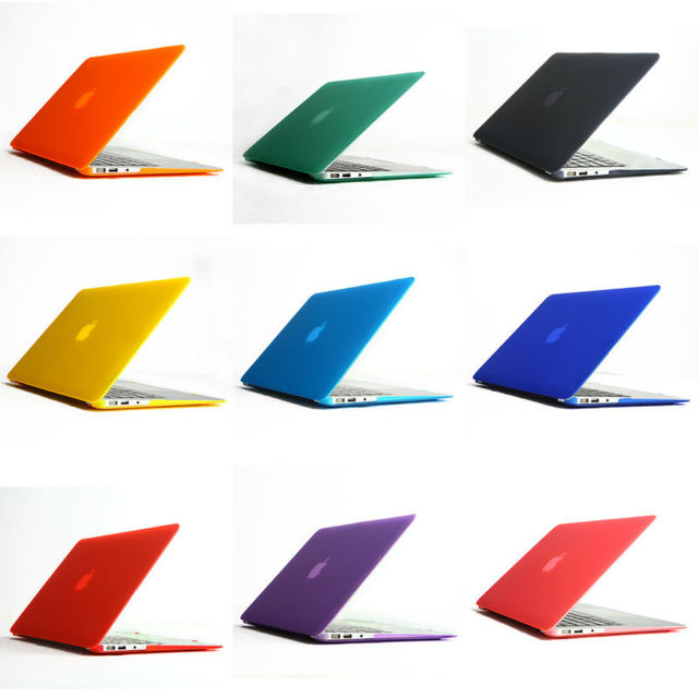 11 Color Matt Rubberized Hard Case Cover For Apple Macbook Air 13 ...