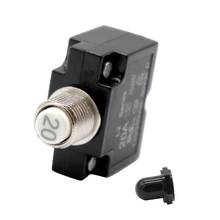 20A DC Thermal Circuit Breaker & Quick Connect Terminal & Bl
