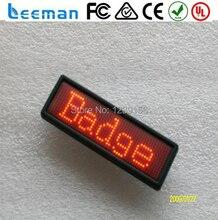 Запрограммированный СВЕТОДИОДНЫЙ бейдж, привело прокрутки сообщение карта, usb перезарядки батареи привело теги имен. дешевой цене сид теги