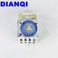 DIANQI AC 220 V 16A 24 uur Analoge Mechanische Tijd Schakelaars Handleiding/Auto Control SUL181H timer
