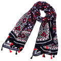 Floral cachecol Bohemia Viento Nacional bufandas cachecol hijab gran tamaño marca foulard femme inverno bikini pareo kwasten mantas