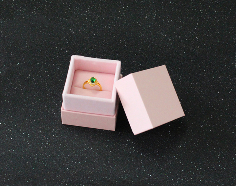 High Quality 5 5 5 5 5 5cm Box For Jewelry Free shipping wholesale 50pcslot Pink