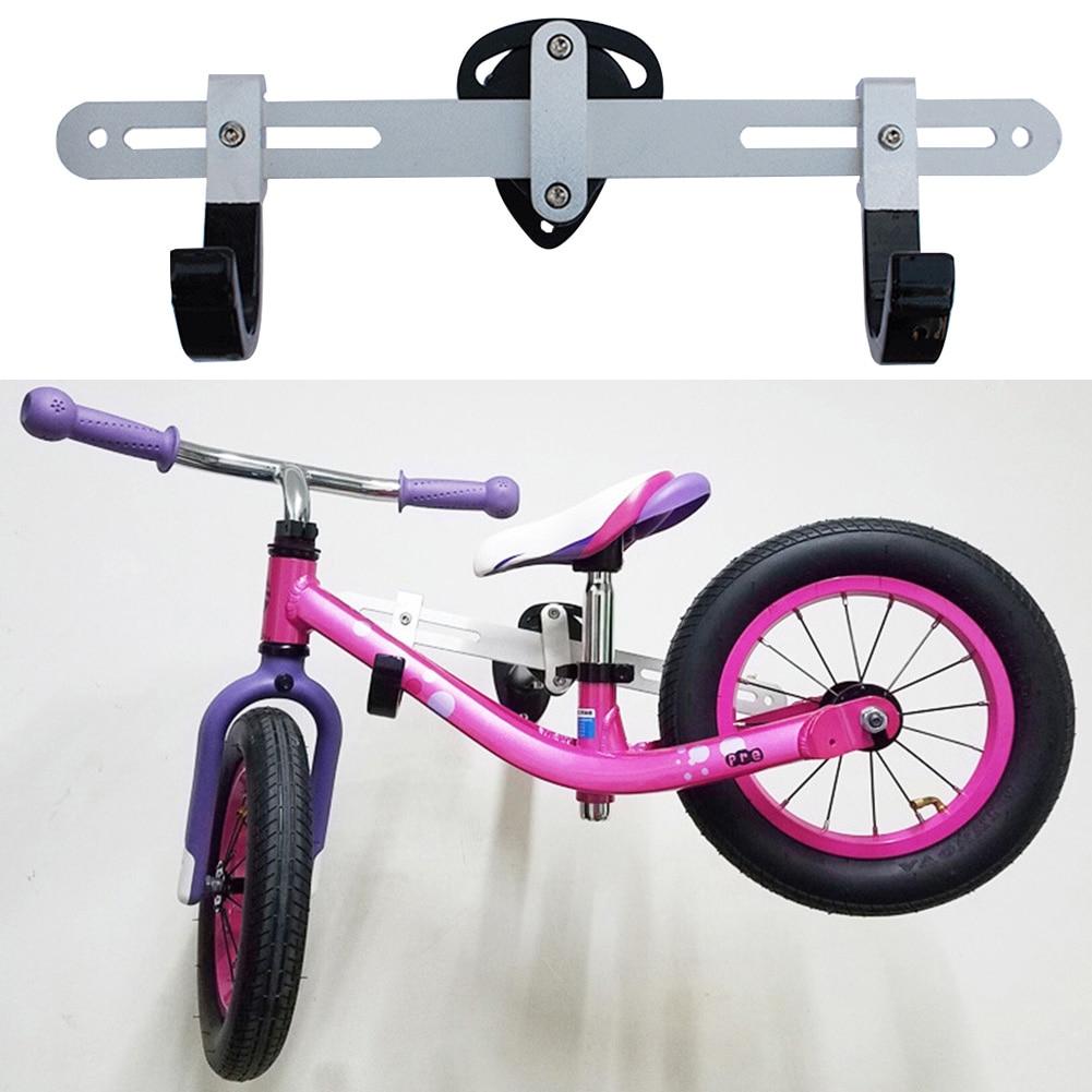 Alliage d'aluminium à Angle réglable facile à installer support de vélo pratique support mural accessoires de suspension crochet Stable stockage Durable