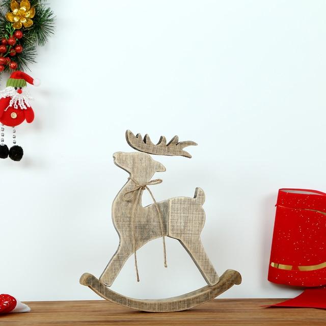 Originales hechos a mano de madera adornos navidad for Decoracion en madera para el hogar