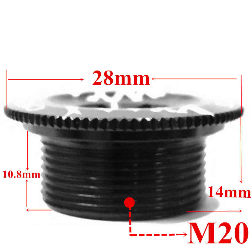 Велосипедная крышка шатуна винтовая крышка M20 MTB дорожный велосипедный Кривошип болт коленчатый набор фиксирующий болт с ЧПУ кривошипный рычаг винт BB осевые винты велосипедный фитинг