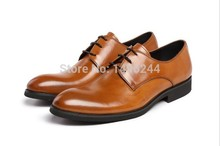british style real top cowhide leather qshoes shoes mens brand business dress luxury men fashion pointed-toe lace-up shoe y61681
