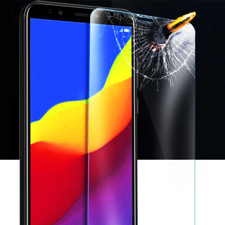 Protective Glass On For Huawei Y5 Lite Safety Glass Huawey Y5 Prime Y5 Ii Y6 Y 5  5y Light Screenprotector Huavei y6 prime 2018
