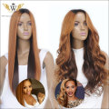5A 150 Density Glueless Ombre Lace Front Human Hair Wig/Remi Ombre Full Lace Blonde Human Hair Wig Black Women