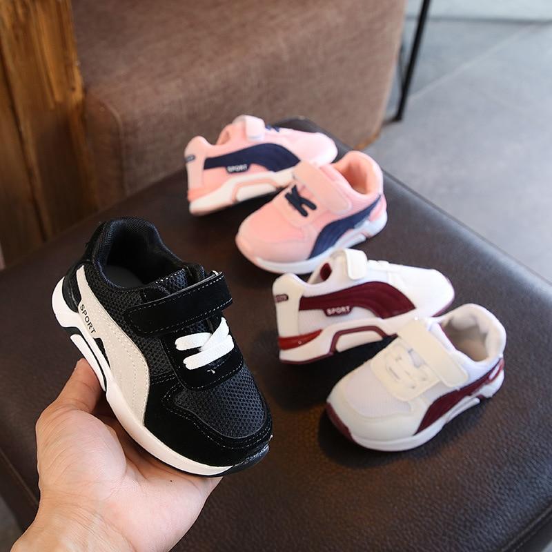 Hohe Qualität Schuhe Hook & Loop Kinder Schuhe cool heiße Verkäufe Kinder Turnschuhe Patchwork laufende Baby Mädchen Jungen Schuhe Säugling Tennis