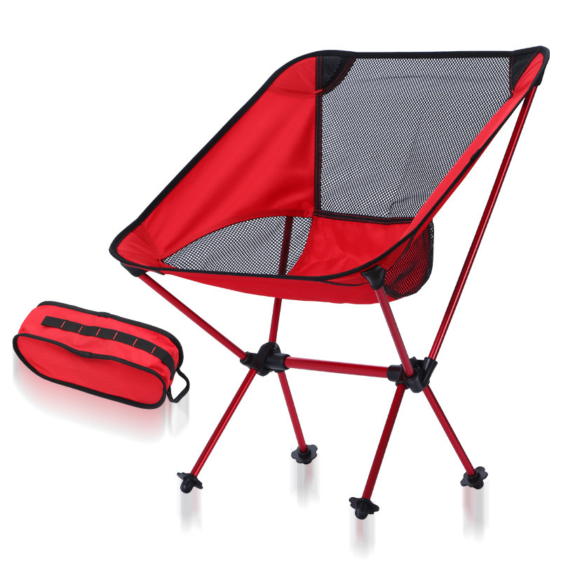 Foldable Fishing Chair Winter Summer Mesh Camping Stool Outdoor Furniture Portable 9 Colors Ultralight 600D Oxford Moon Chair