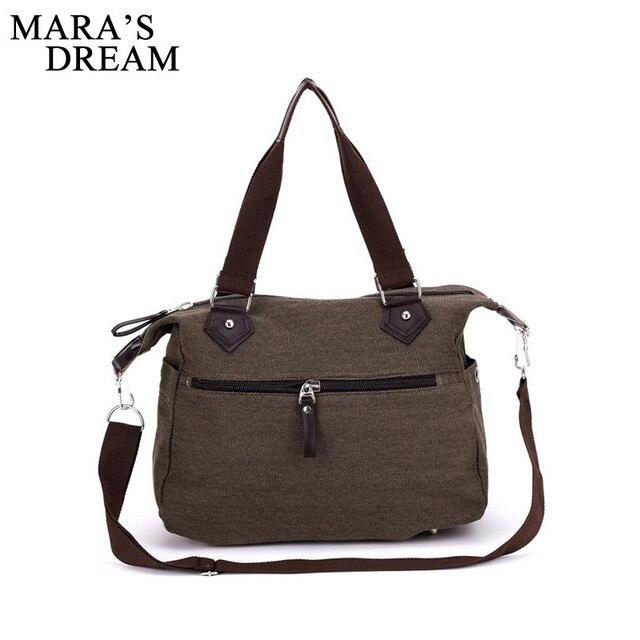 Mara's Dream 2018 Canvas Bag Fashion Women Messenger Bags Handbags Women's  Crossbody Shoulder Bag Big Tote Bag Bolsas Sac A Main