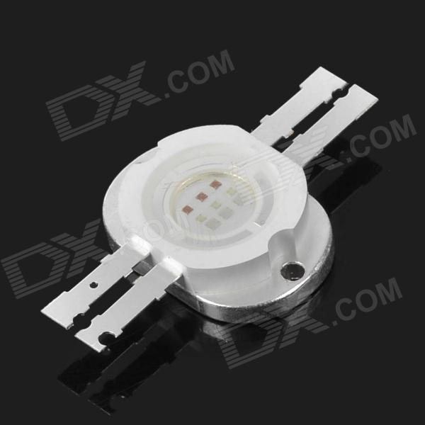 10pcs/lot DIY 1000lm High Power 10W RGB Intergared LED Chip Beads Module Emitter Diode Free Shipping