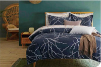 Brief Europe Tree Branches Pattern Luxury Style High Quality Modern Bedding Sets Duvet Cover Set Queen