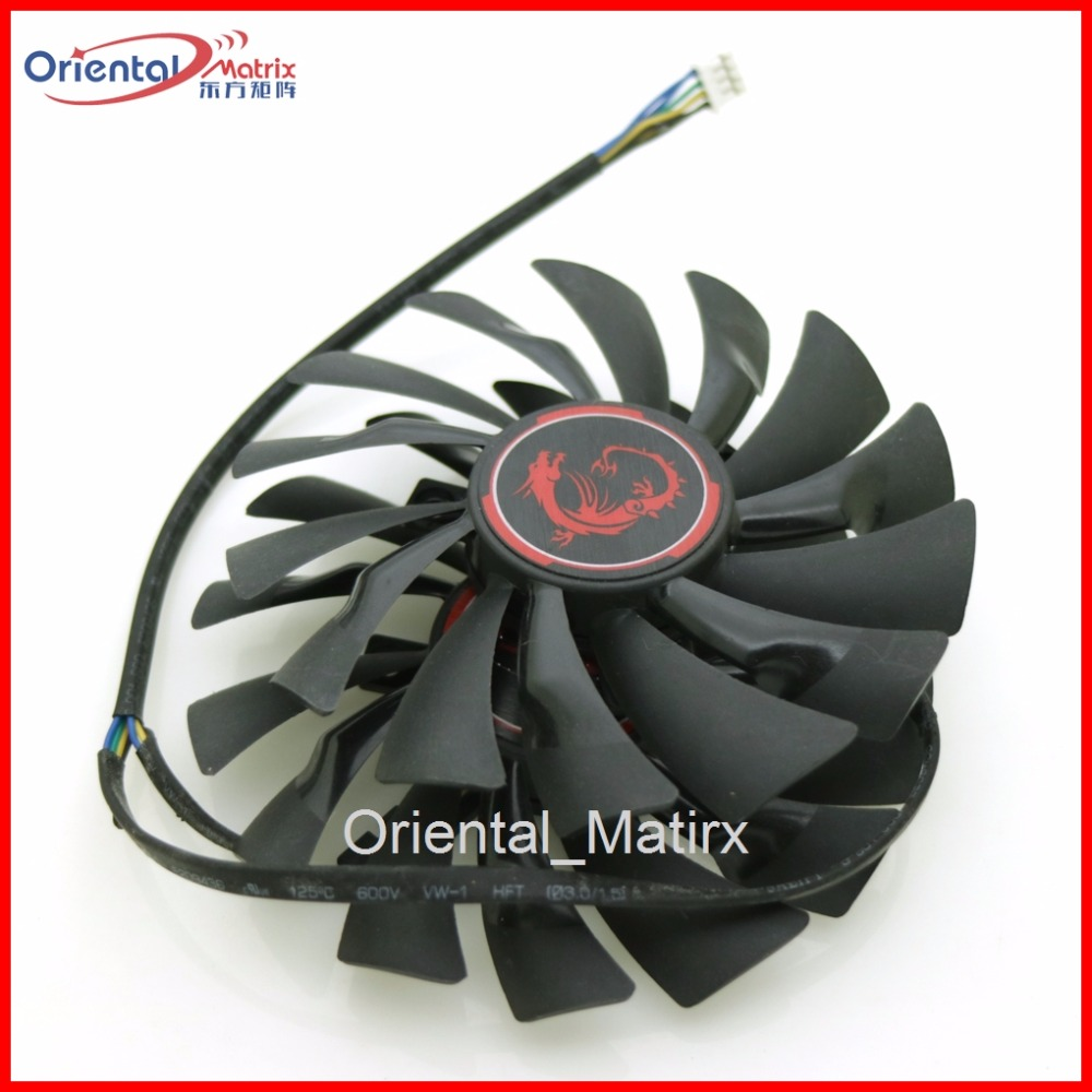 2pcs/lot PLD10010S12HH 12V 0.40A 4Pin 94mm For MSI R9 380X 390X GAMING GTX960 GTX950 Coo ...