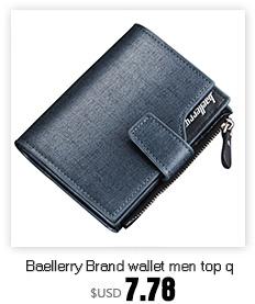 coheart мужчины засов бумажник тройного сложения кожаный кошелек кошельки для мужчин высокое качество большой емкости кредит крэд держатели мешок денег дешевые