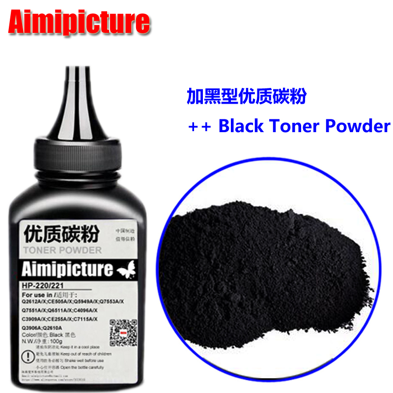 No-name 12A Black Refill Laser Printer Toner Powder Kit for HP C4096A C4096 4096A 4096 96A 2100 2100N 2200 2200dn Imported Laser Toner Power Printer 500g//Bag,1 Pack