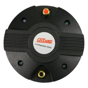 Image 5 - GHXAMP 44/ 44.4 Core Horn Tweeter Speaker 8ohm 45W Stage Treble Speaker Drive Head Titanium Film Magnet 115*15MM 1PC