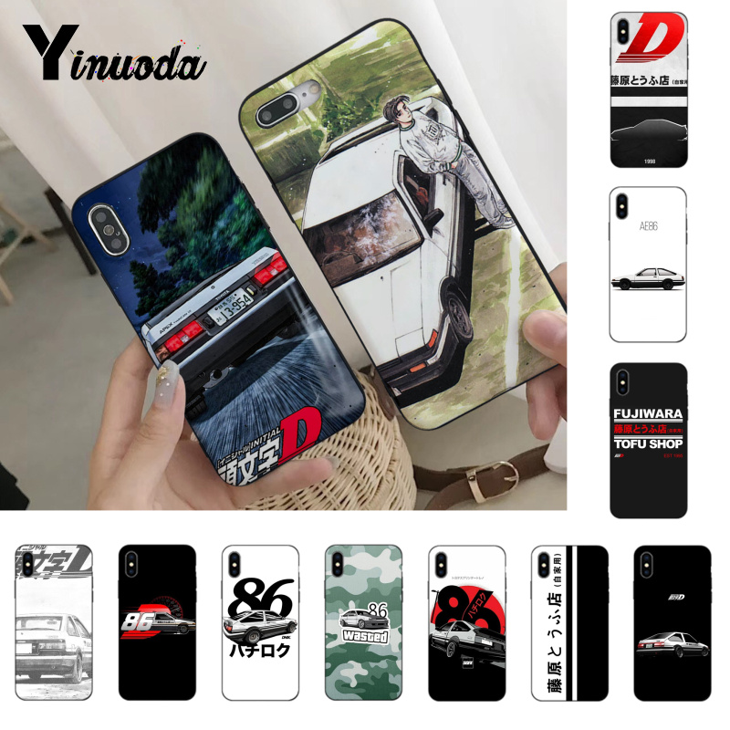 Yinuoda INITIAL D AE86 Hot Printed Cool Phone Accessories