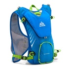 N 2017AONIJIE Men Women Outdoor Lightweight Trail Running Marathon Hydration Backpack Hiking Bag With 1.5L Hydration Water Bag