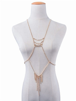 Unique Shiny Rhinestone Body Chain6